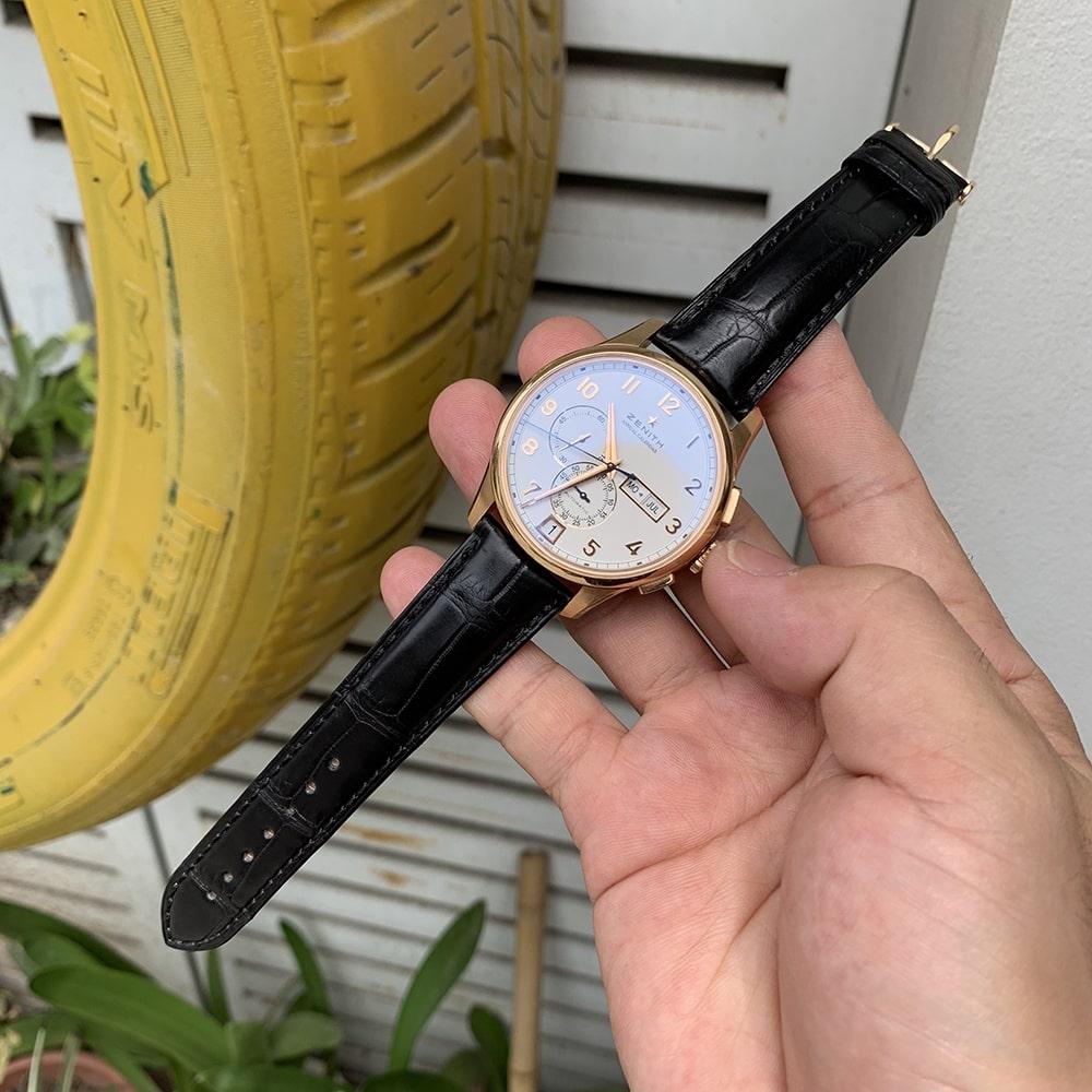 dây da đồng hồ zenith