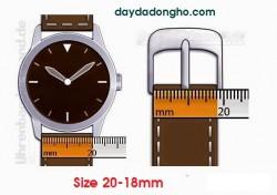 Cách đo size dây đồng hồ, hướng dẫn đo size dây đồng hồ nhanh chóng, chính xác nhất.