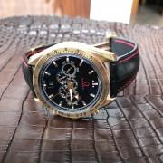 Dây đồng hồ Omega da cá sấu Nhập Khẩu cao cấp, chế tác theo nhu cầu.